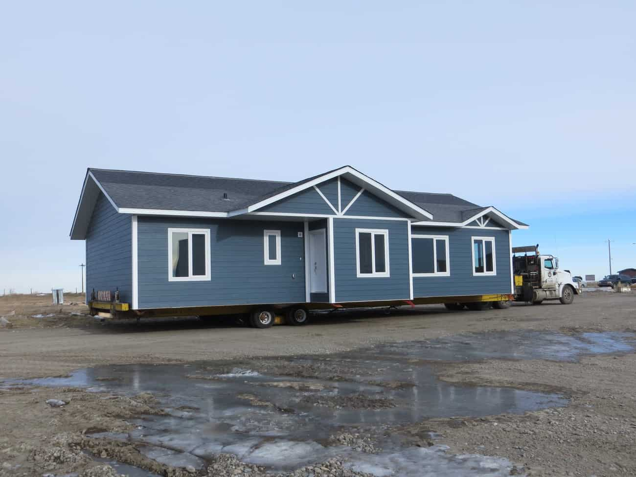 RTM Home, is a complete home. Manufactured, Prefabricated off site and transported in one piece to the building site.