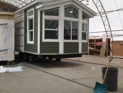 Tiny Home on Wheels Built in Alberta