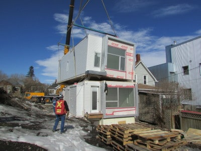 Commercial Properties, and Developers love Modular Building as it dramatically speeds turn over time.