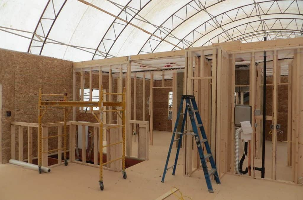 Watch a Modular Home be Reassembled.