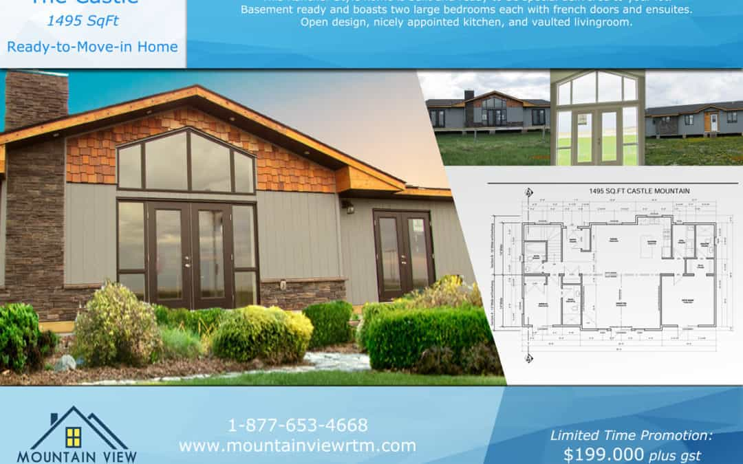 modular homes and Cabins for sale South East BC