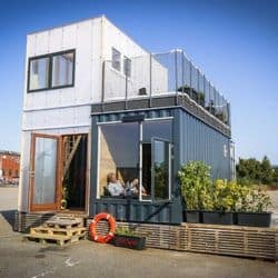 Container Home using Modular Construction, BC, AB, Sask