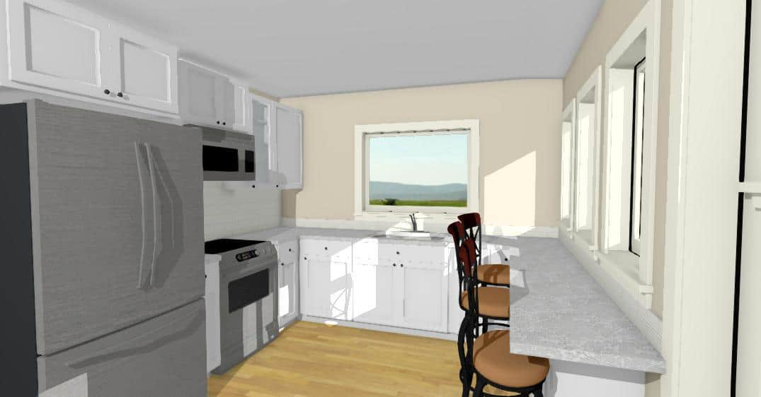 Nelson Home Plan Kitchen
